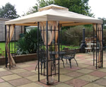 Buckingham gazebo beige