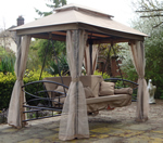Orladon gazebo swing