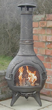 The Calico BBQ Chiminea Antique Bronze £119