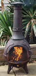 The Calico BBQ Chiminea Antique Copper £105