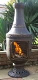 Classic Urn Cast iron ChimineaChiminea