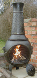 "53"" Basketweave Chiminea Bronze £179 The King of chimineas"