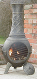 The Basketweave Chiminea Bronze £105